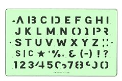 Lettering Alphabet Templates Timely Drafting Templates Die